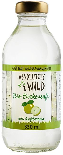 Absolutely Wild BIO Březová voda - Jablko 330 ml