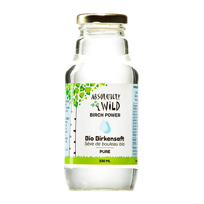 Absolutely Wild BIO Brezová voda Pure 330 ml