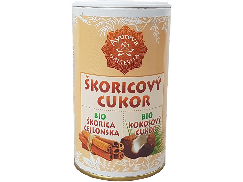 Zobrazit detail výrobku Altevita Bio kokosový cukr skořicový - cukřenka 100g