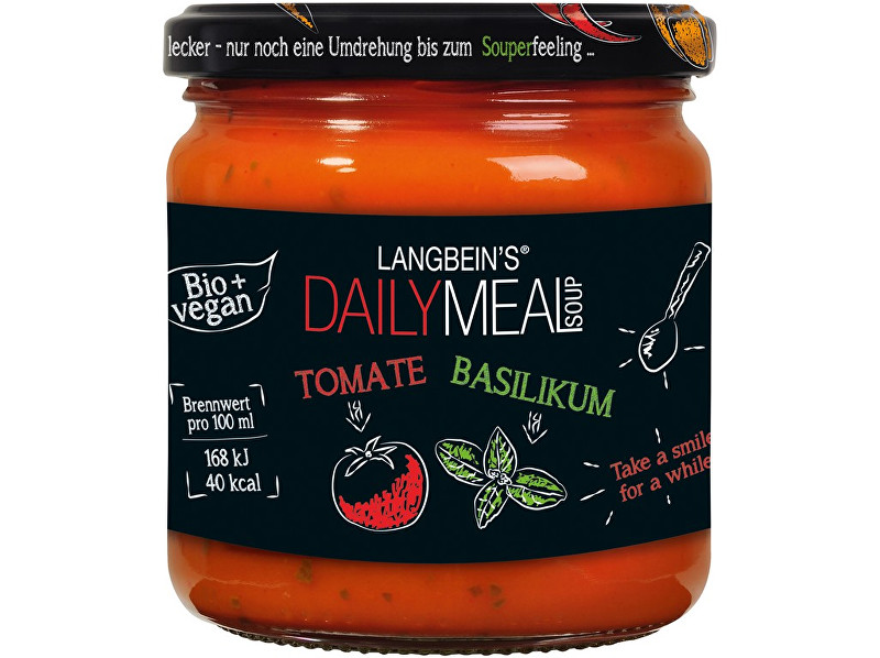 Daily Meal Bio polévka rajčatová s bazalkou 350ml