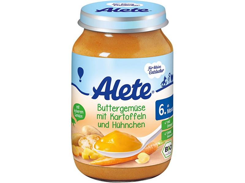 Alete Bio příkrm - mrkev s bramborem a kuřecím masem 190g