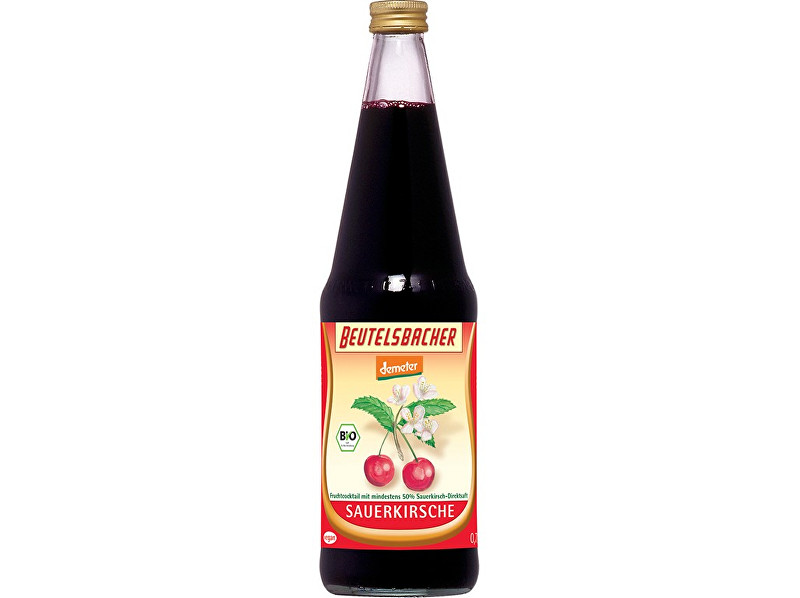 Zobrazit detail výrobku Beutelsbacher Bio višňový nektar Beutelsbacher 0,7 l