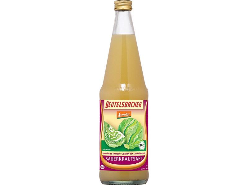 Beutelsbacher Bio zelná šťáva mléčně kvašená Beutelsbacher 0,7 l