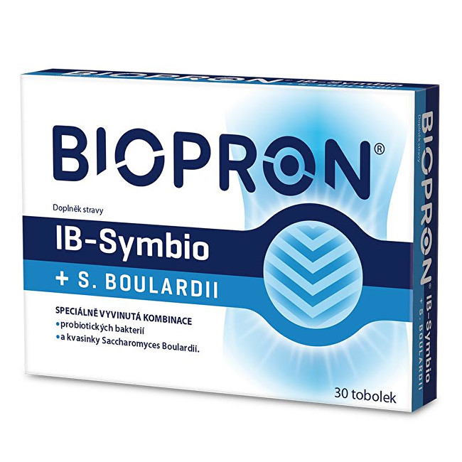 Zobrazit detail výrobku Biopron Biopron IB-Symbio + S. boulardi 30 tob.