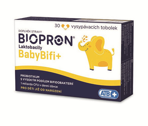 Zobrazit detail výrobku Biopron Biopron Laktobacily Baby BIFI+ 30 tob.