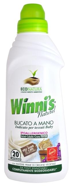Zobrazit detail výrobku Winni´s Bucato a Mano tekutý prací prostředek na ruční praní pro všechny druhy prádla 750 ml