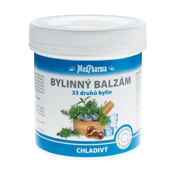 Bylinný balzám chladivý 33 druhů bylin 250 ml