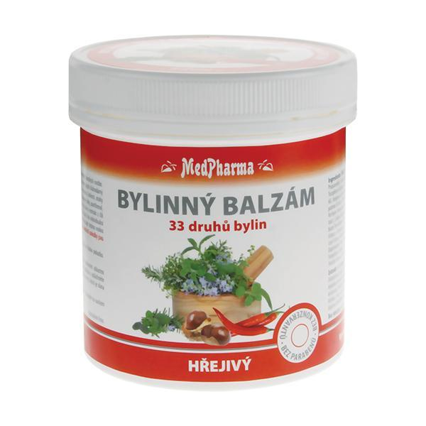 Zobrazit detail výrobku MedPharma Bylinný balzám hřejivý 33 druhů bylin 250 ml