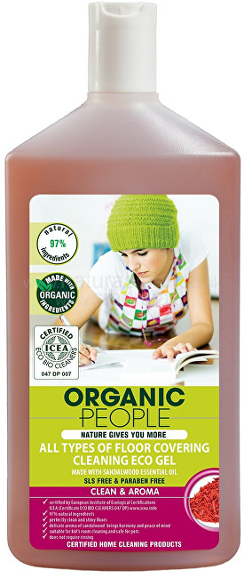 Zobrazit detail výrobku Organic People Čistící gel na všechny typy podlah 500 ml