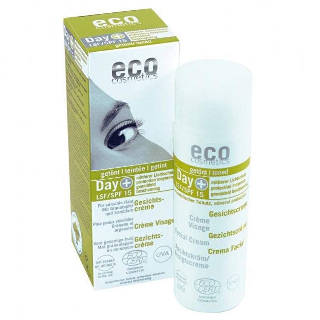 Eco Cosmetics Tónovaný denní pleťový krém SPF 15 50 ml