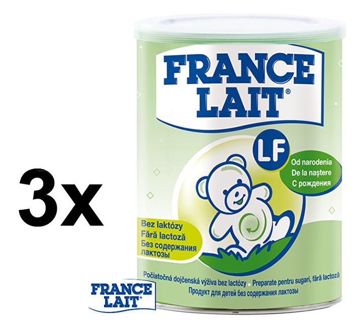 France Lait Dietní potravina bez laktózy 3 x 400 g