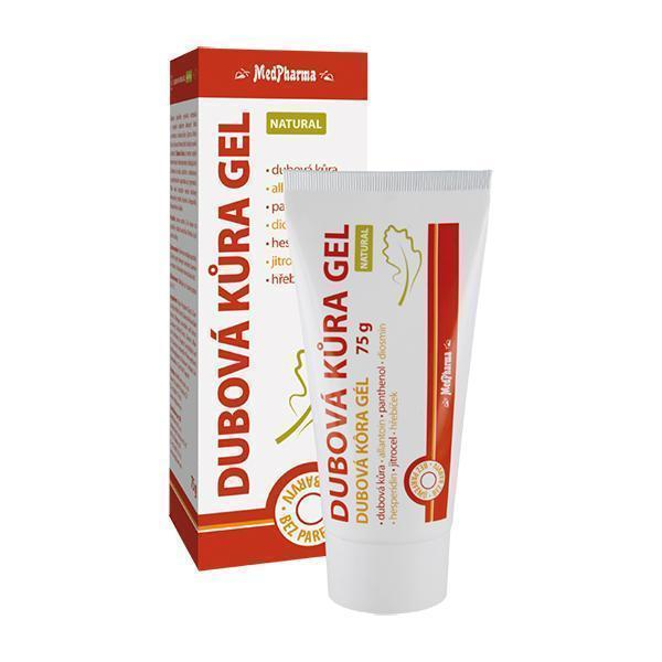 Zobrazit detail výrobku MedPharma Dubová kůra gel Natural 75 g