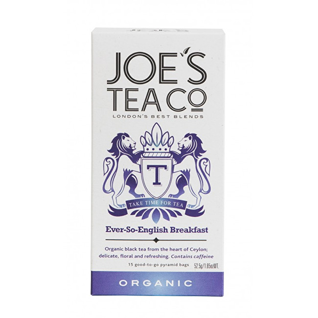 Joe´s Tea Co. English Breakfast BIO 15 pyramidek