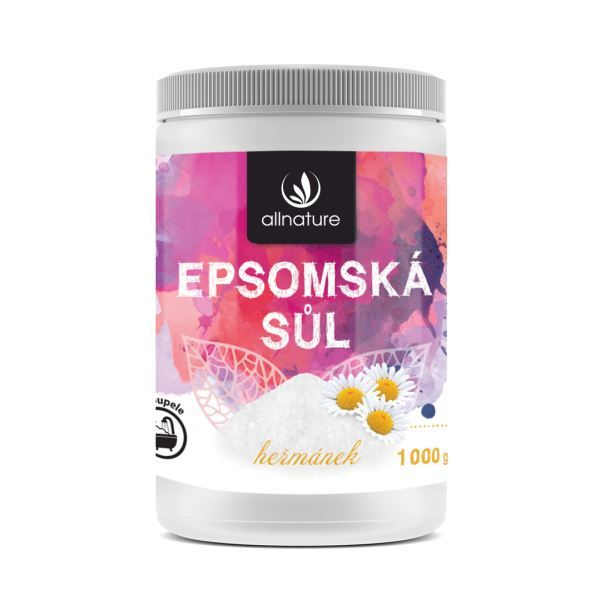 Zobrazit detail výrobku Allnature Epsomská sůl heřmánek 1000 g