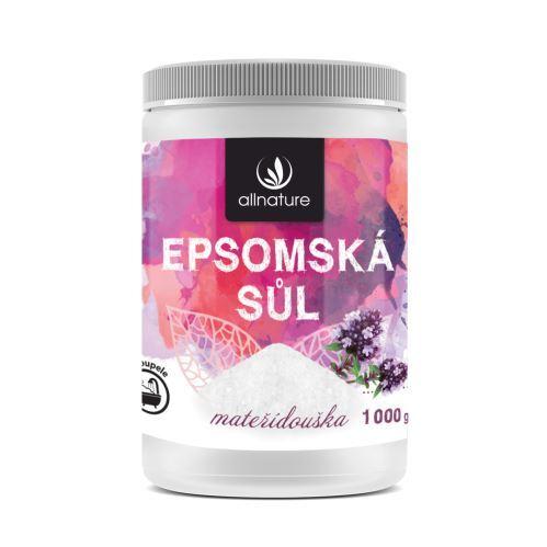 Zobrazit detail výrobku Allnature Epsomská sůl mateřídouška 1000 g