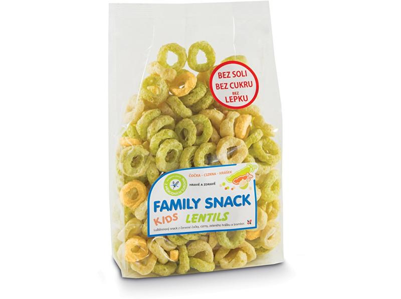Zobrazit detail výrobku Family snack Family snack Lentils 120g