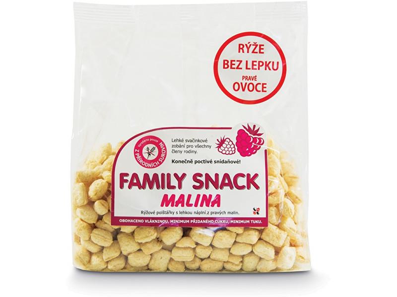 Zobrazit detail výrobku Family snack Family snack Malina 200g