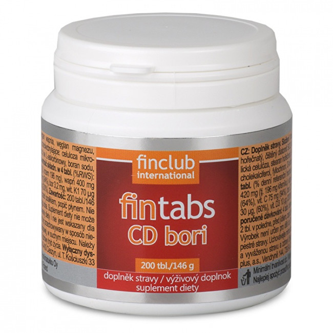 Finclub Fintabs CD Bori 200 tablet