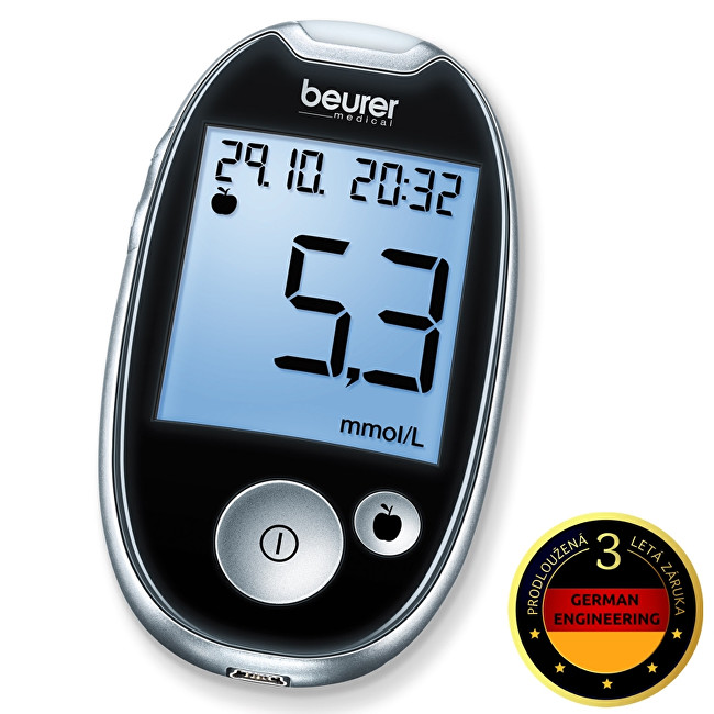 Zobrazit detail výrobku Beurer Glukometr GL 44 černý