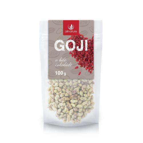 Zobrazit detail výrobku Allnature Goji v bílé čokoládě 100 g