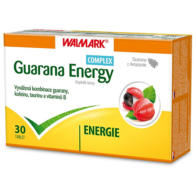Zobrazit detail výrobku Walmark Guarana Energy Complex 30 tbl.