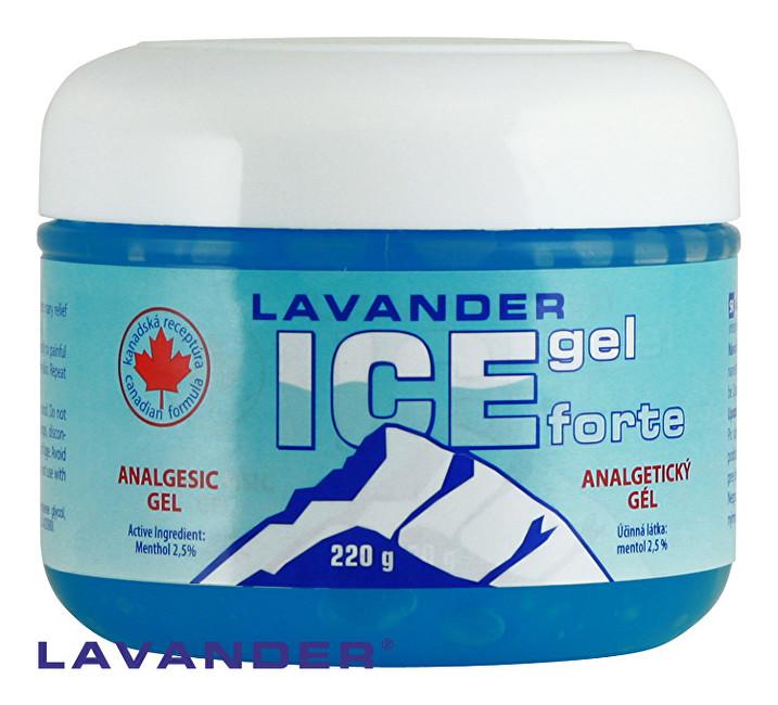 Lavander ICE gel Forte 220 g
