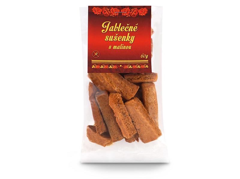 Zobrazit detail výrobku Vologodské sušenky Jablečné sušenky s malinou 60g