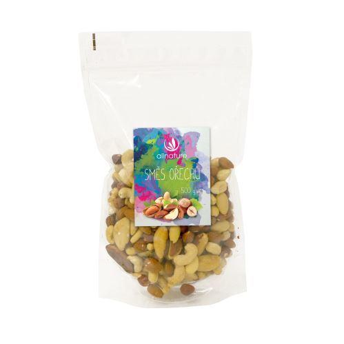 Zobrazit detail výrobku Allnature Jádra ořechů směs (mandle, lískače, kešu, para) 500 g
