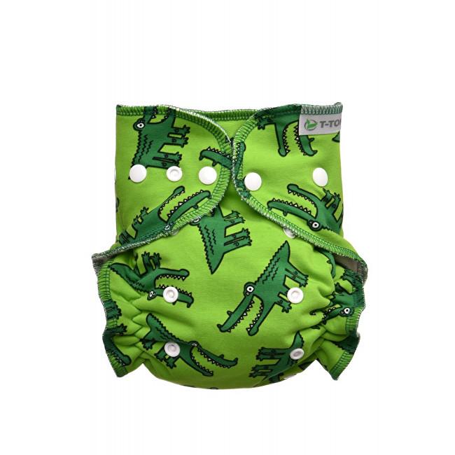 Zobrazit detail výrobku T-tomi Kalhotková plena - přebalovací set patentky (3 - 15 kg) Crocodiles