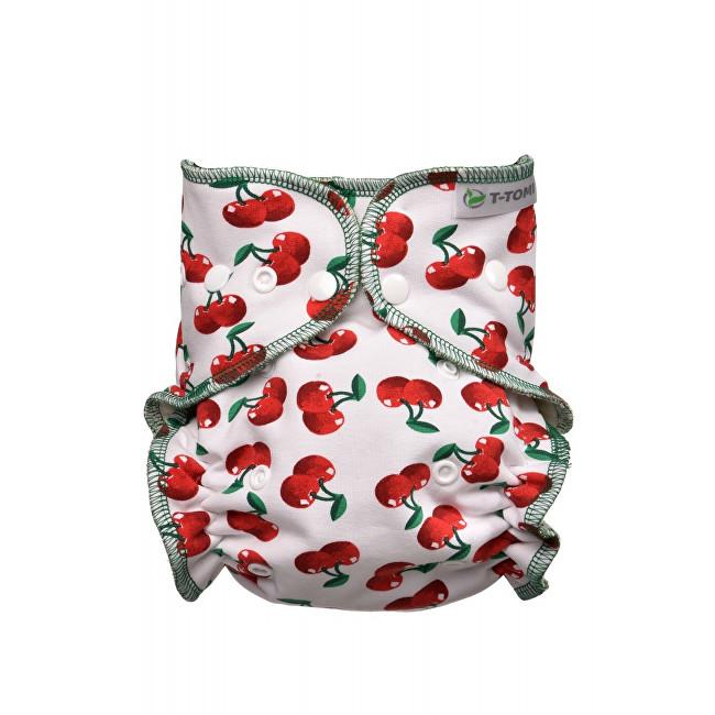 Zobrazit detail výrobku T-tomi Kalhotková plena - přebalovací set patentky (3 - 15 kg) Cherries