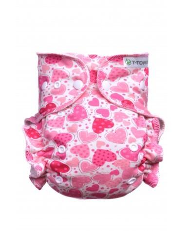 Zobrazit detail výrobku T-tomi Kalhotková plena - přebalovací set patentky (3 - 15 kg) Hearts