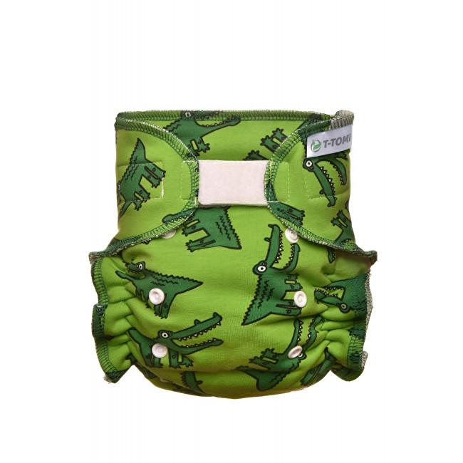 Zobrazit detail výrobku T-tomi Kalhotková plena - přebalovací set suchý zip (3 - 15 kg) Crocodiles