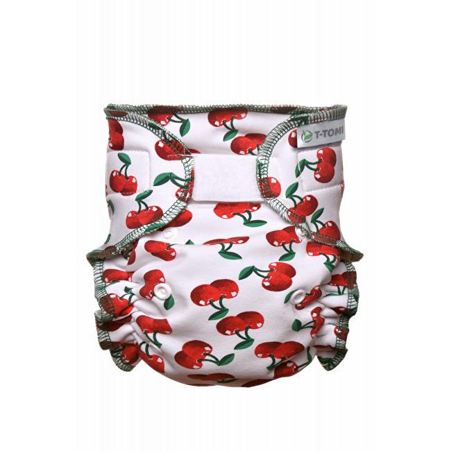 Zobrazit detail výrobku T-tomi Kalhotková plena - přebalovací set suchý zip (3 - 15 kg) Cherries