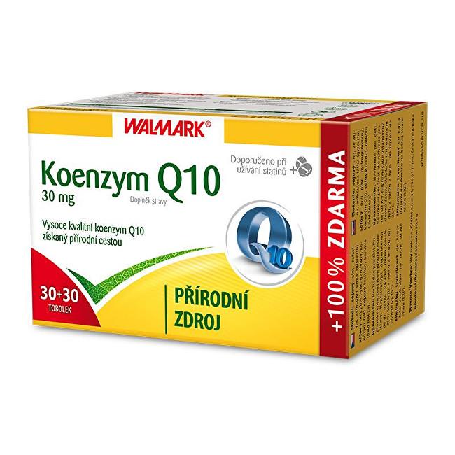 Koenzym Q10 30 mg 30 tob. + 30 tob. ZDARMA