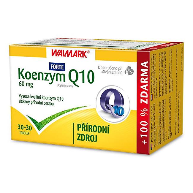Zobrazit detail výrobku Walmark Koenzym Q10 Forte 60 mg 30 tob. + 30 tob. ZDARMA