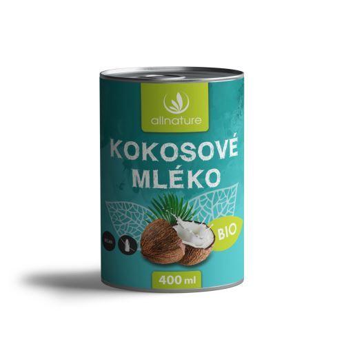 Zobrazit detail výrobku Allnature Kokosové mléko BIO 400 ml