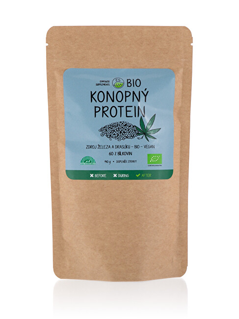 Empower Supplements Konopný proteín BIO 140 g