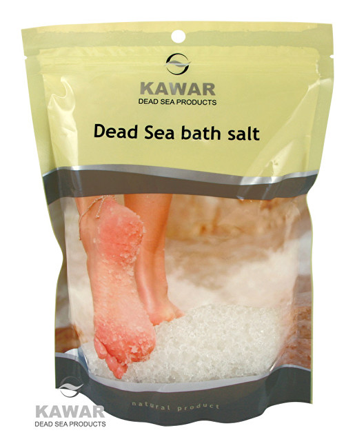 Zobrazit detail výrobku Kawar Koupelová sůl z Mrtvého moře 1000 g sáček
