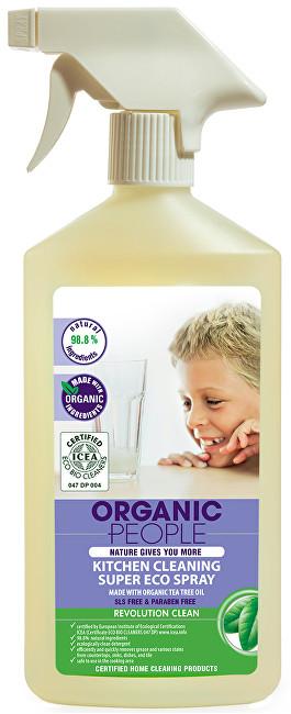 Organic People Kuchyňský čistící eko sprej 500 ml