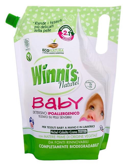 Zobrazit detail výrobku Winni´s Lavatrice Baby hypoalergenní prací gel s aviváží a jemnou vůní pro miminka a děti 800 ml