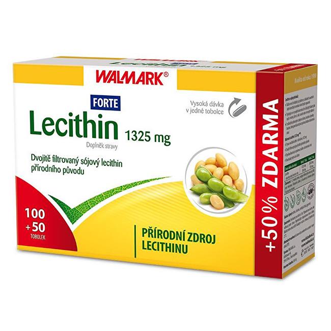 Zobrazit detail výrobku Walmark Lecithin Forte 1325 mg 100 tob. + 50 tob. ZDARMA