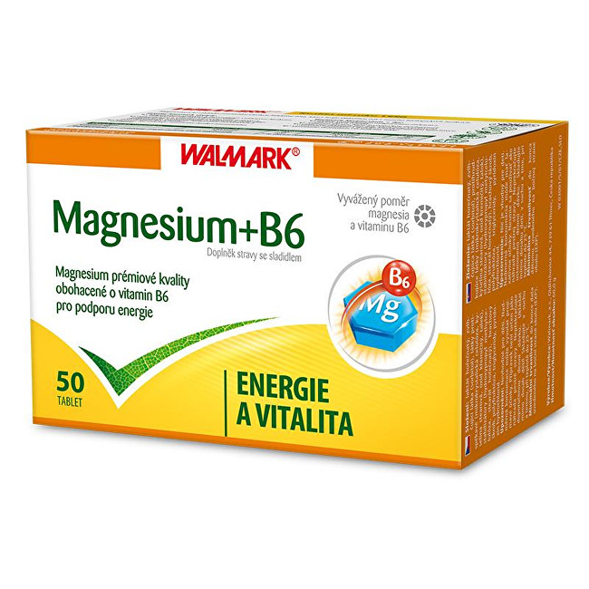 Zobrazit detail výrobku Walmark Magnesium + B6 50 tbl.