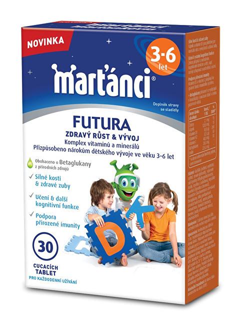 Zobrazit detail výrobku Walmark Marťánci FUTURA 3-6, 30 tablet