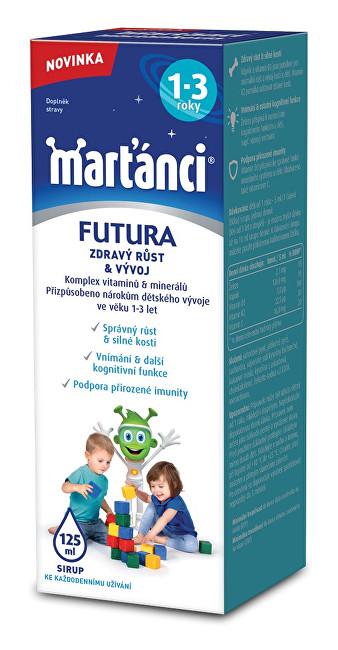 Zobrazit detail výrobku Marťánci Marťánci Futura sirup (1-3 roky) 125 ml