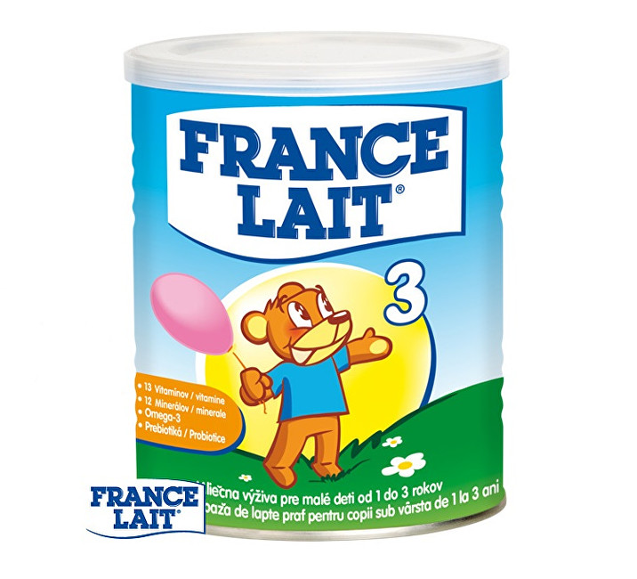Zobrazit detail výrobku France Lait Mléčná výživa na podporu růstu pro děti od 1 roku 400 g