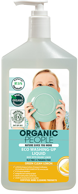 Organic People Mycí prostředek - citron 500 ml