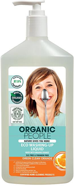 Zobrazit detail výrobku Organic People Mycí prostředek - Pomeranč 500 ml