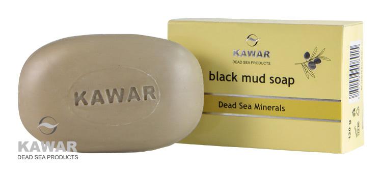 Mýdlo s obsahem černého bahna z Mrtvého moře 120 g