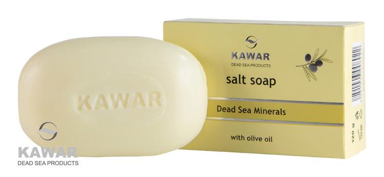 Kawar Mýdlo s obsahem soli z Mrtvého moře 120 g