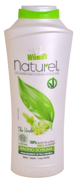 NATUREL Bagno Schiuma The Verde pěna do koupele se zeleným čajem 500 ml